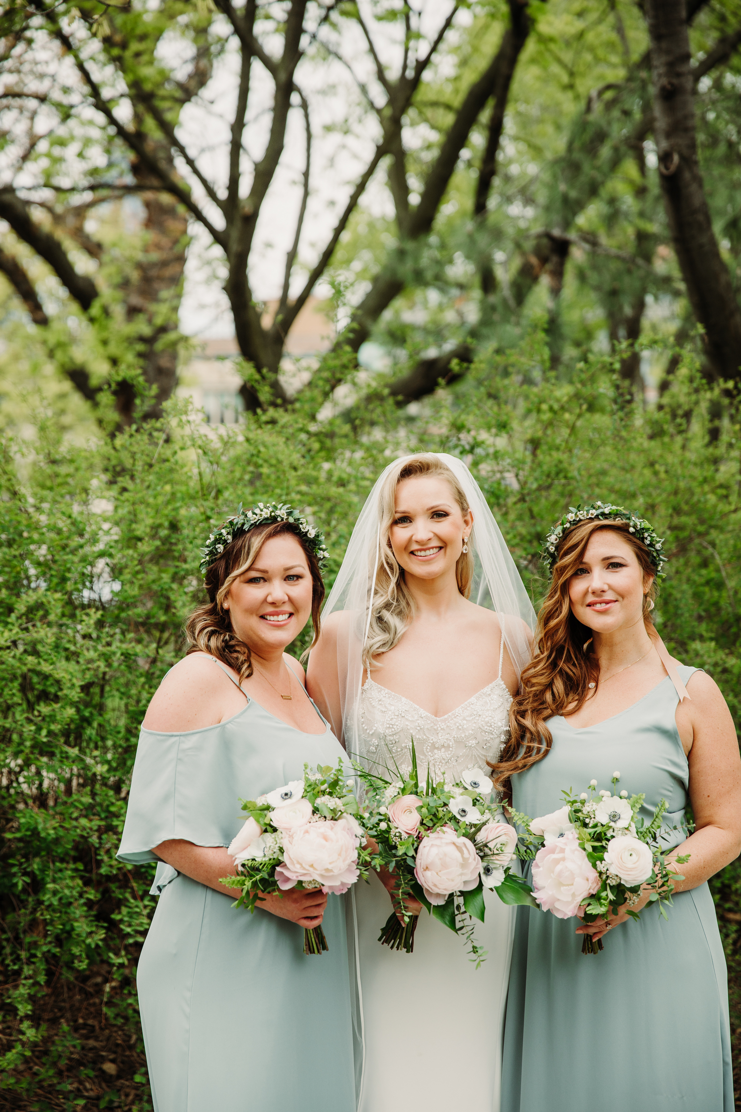 floral crowns tropical wedding toronto