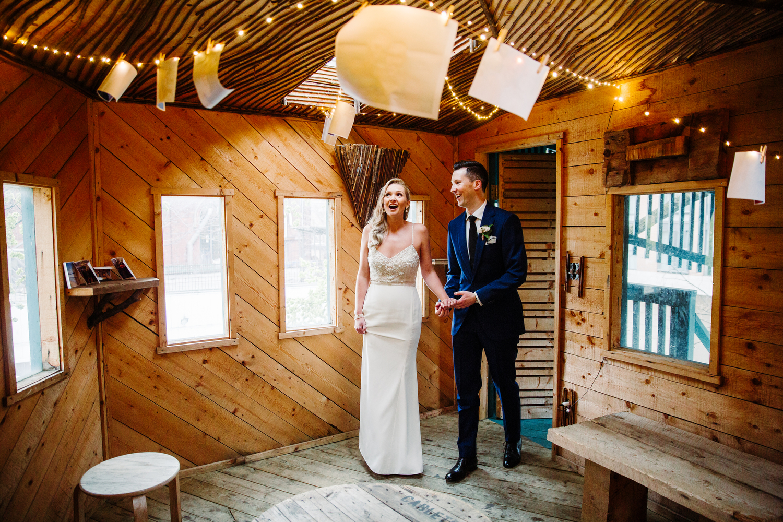tropical wedding berkeley field house toronto