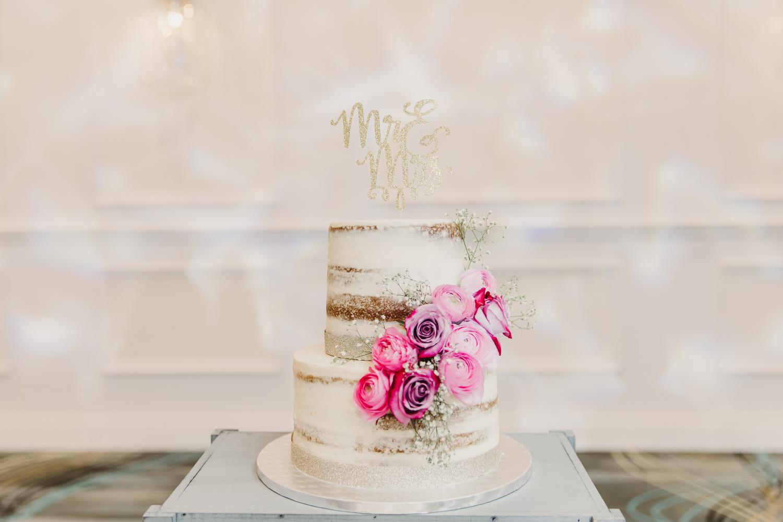naked wedding cake toronto