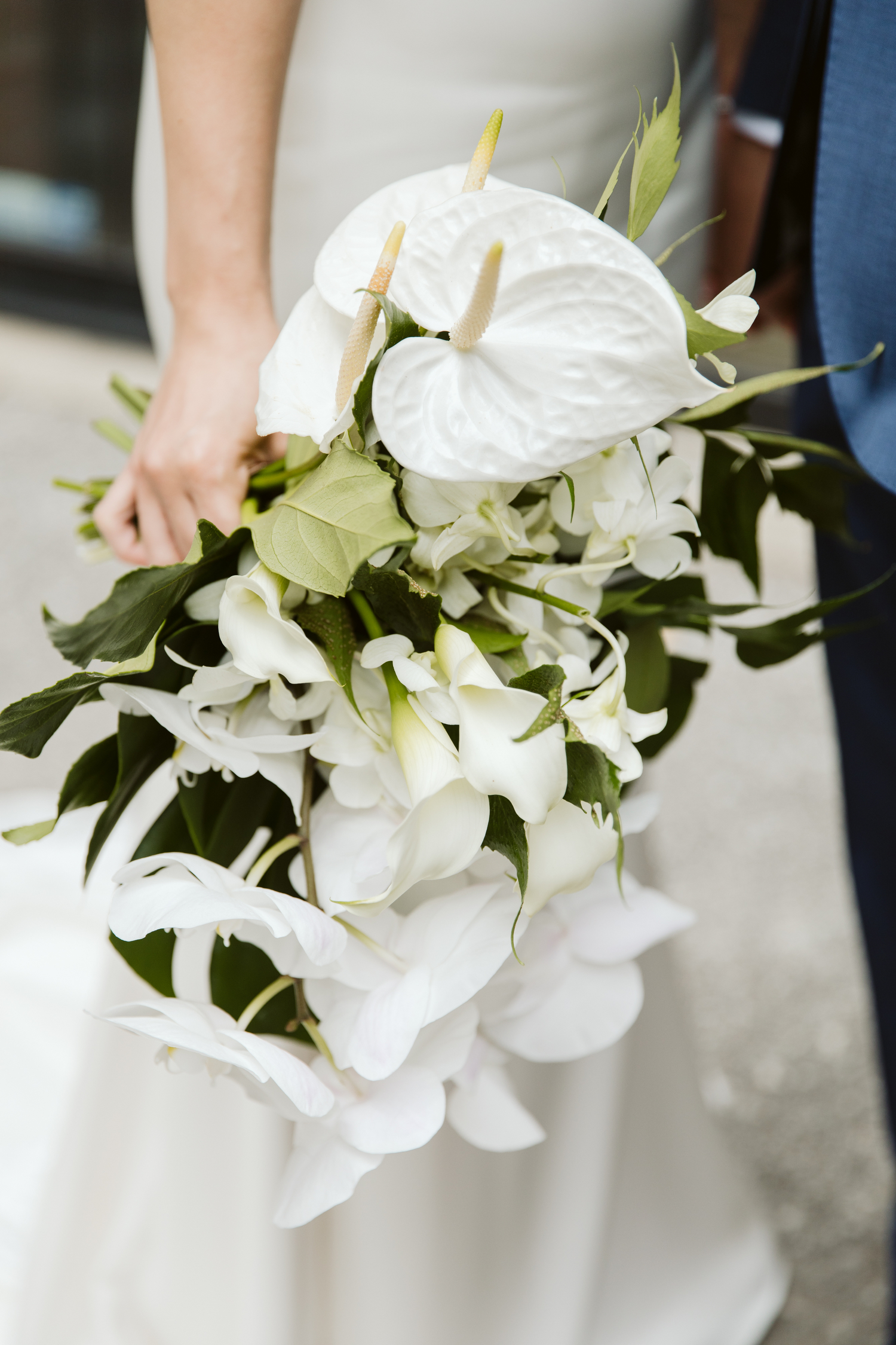 tropical wedding flowers by Blush and Bloom Toronto