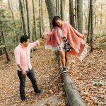 Vista Trail Fall Engagement Shoot