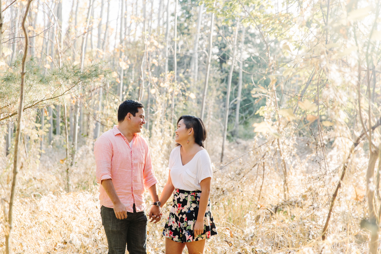 vista trail engagement photography toronto