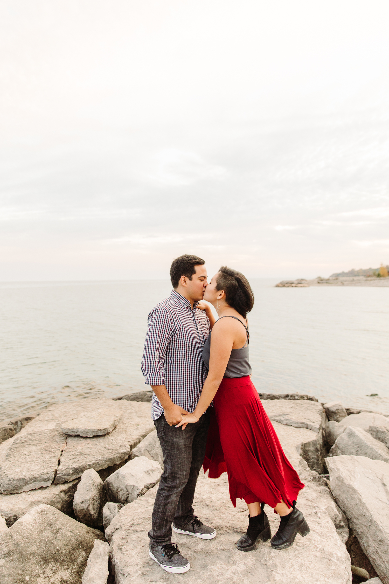 engagement photography port union ontario
