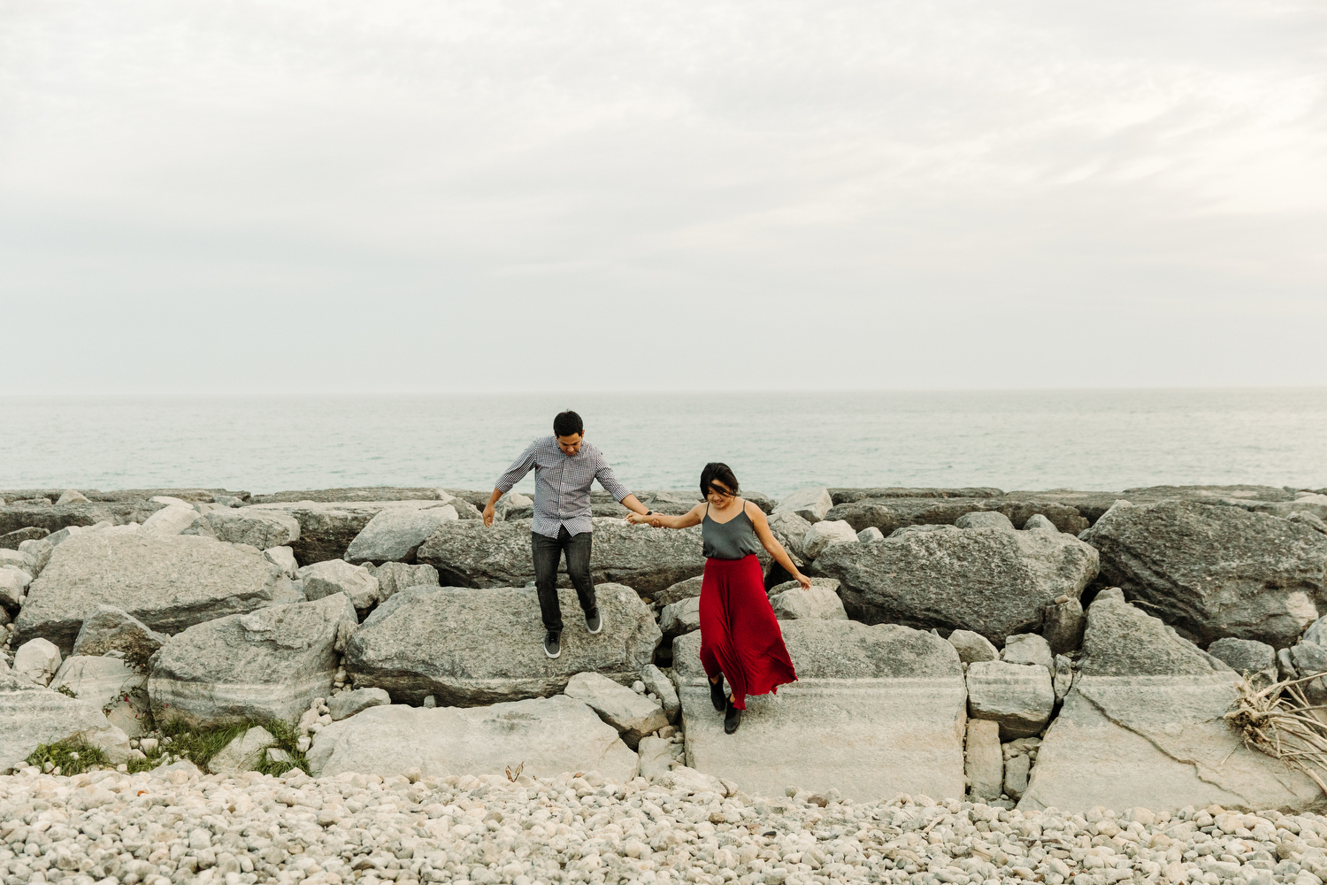 engagement photography port union toronto