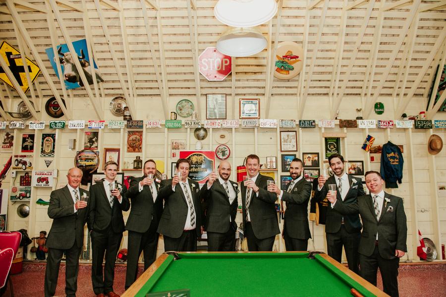 wedding man cave belcroft estates toronto