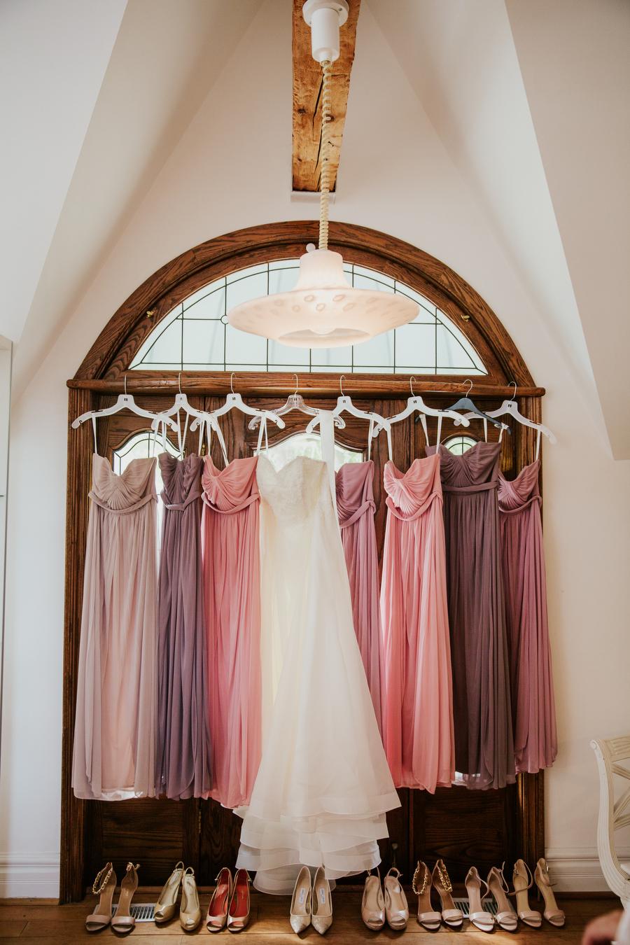 mismatched bridesmaid dresses magnolia studios