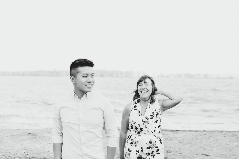 cherry beach engagement photography toronto