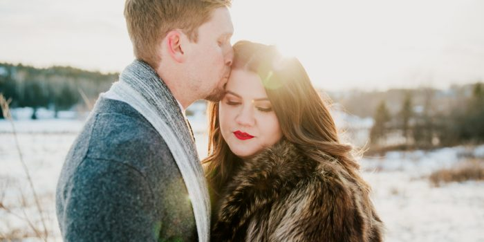 creative boho engagement photography