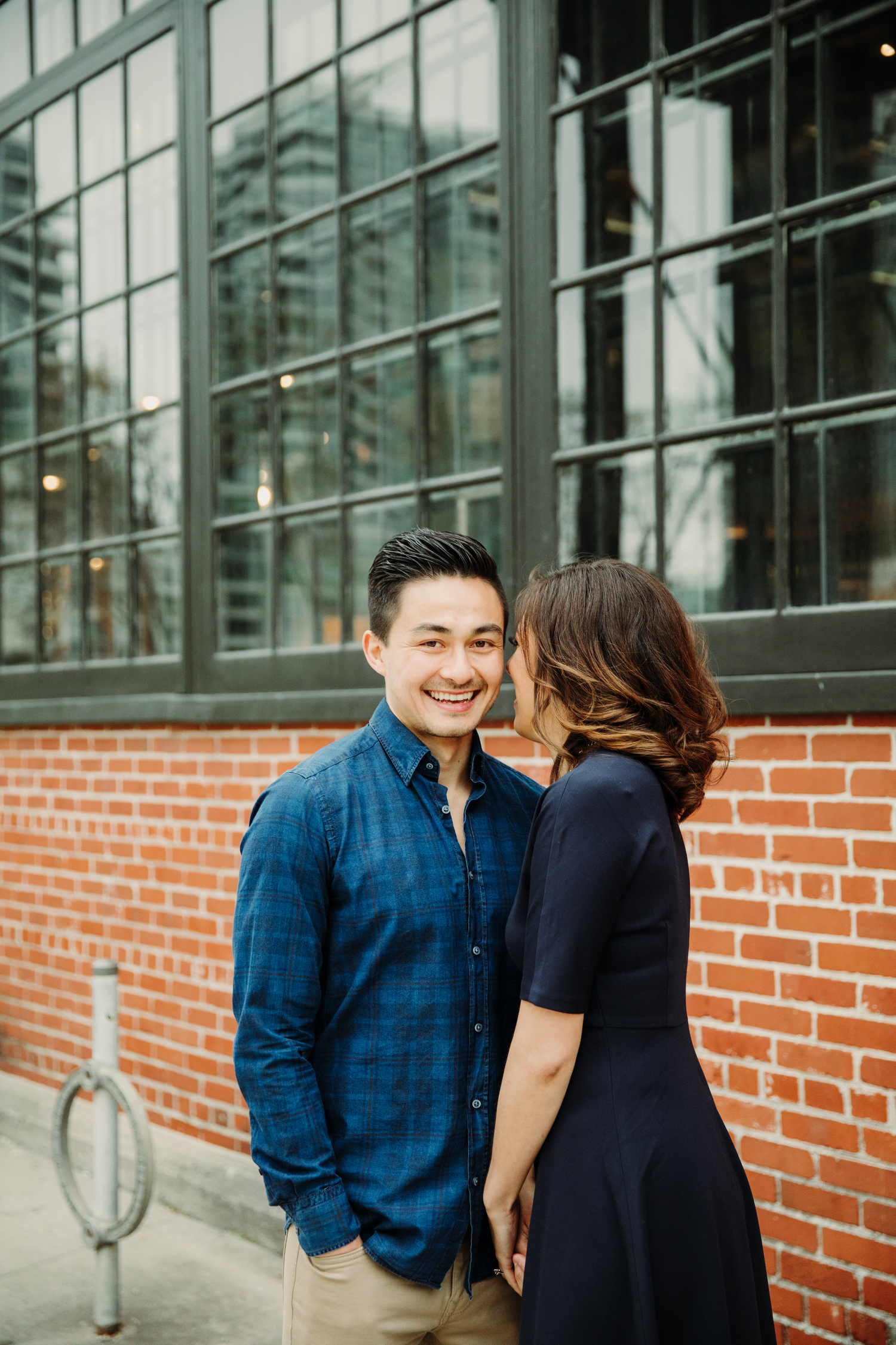 steamwhistle engagement shoot toronto