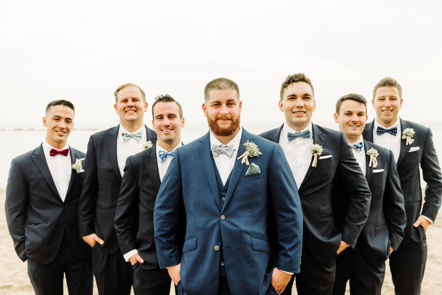 indochino blue grooms suit