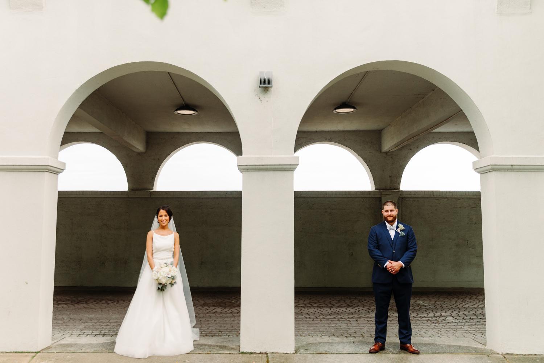 stylish sunnyside pavilion wedding photography