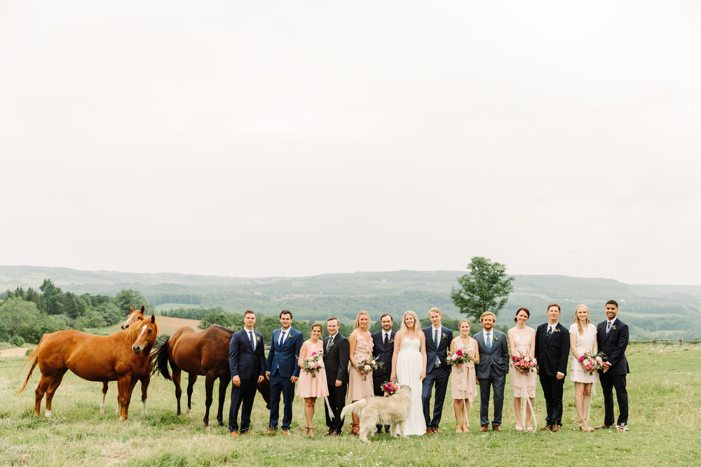 bohemian wedding photography collingwood