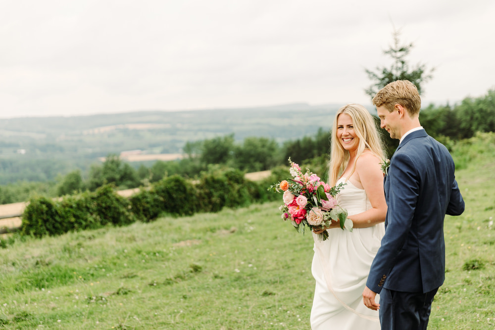country boho wedding photography