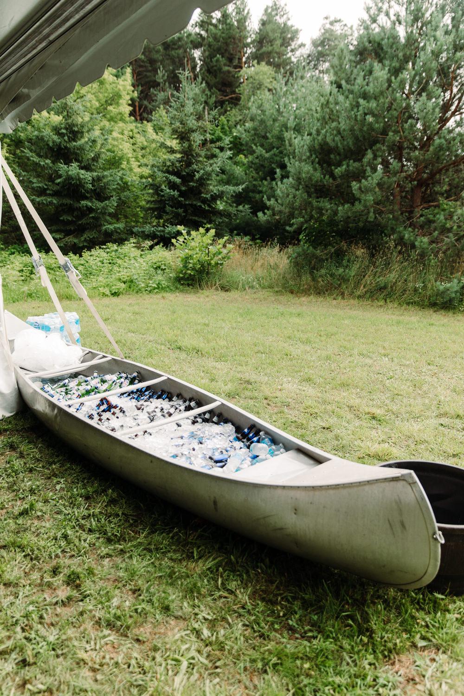 beer canoe