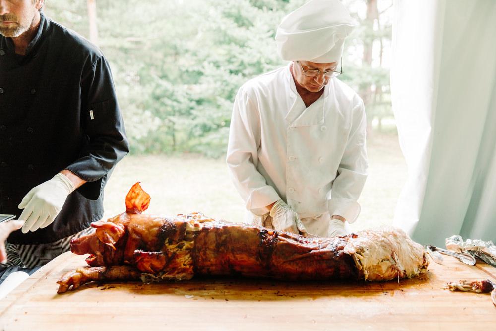 pig roast wedding collingwood