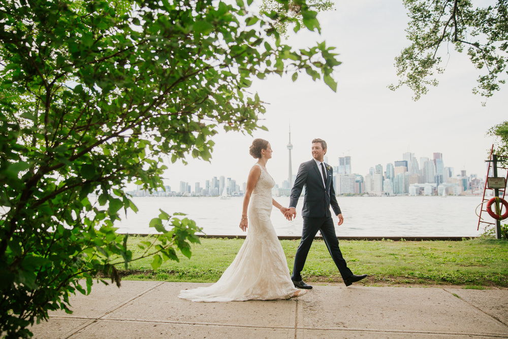 toronto island wedding photographer