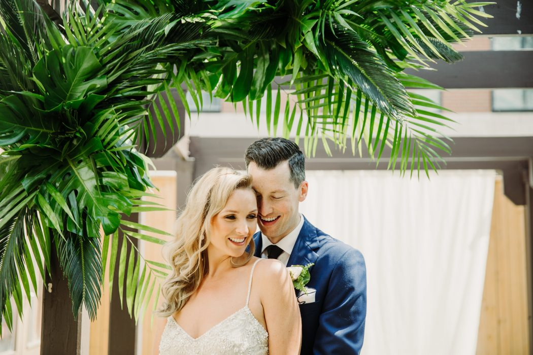 Tropical bohemian wedding in Toronto