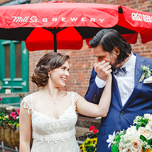 distillery district wedding photographer