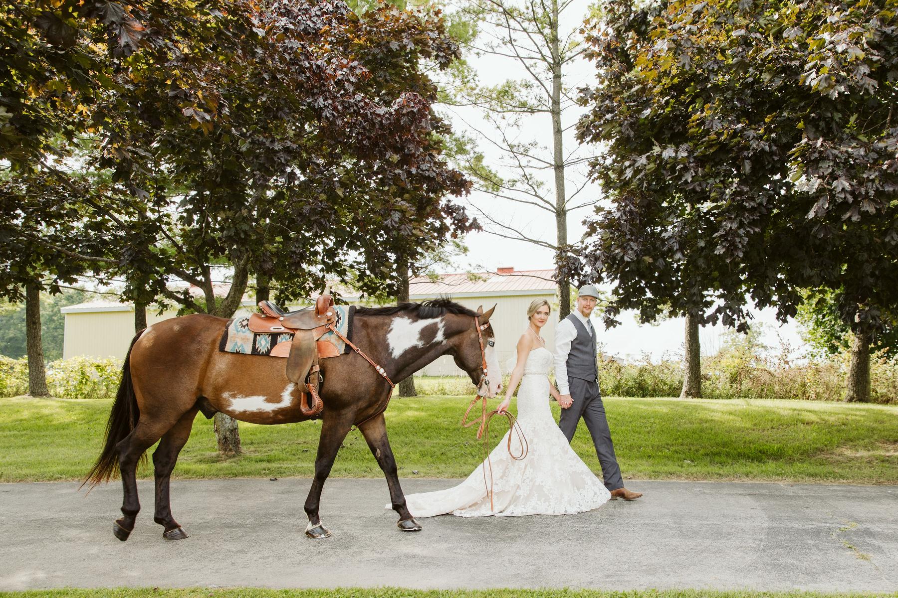 rustic horses wedding toronto